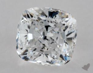 Cushion 1.00, color D, SI2  Ideal diamond