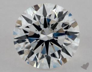 Round 0.81, color F, SI2  Excellent diamond
