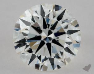 Round 0.80, color H, VVS2  Excellent diamond