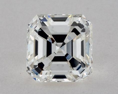 Asscher 0.95, color G, VVS1  Good diamond