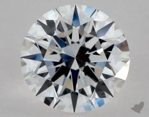 Round 1.05, color D, IF  Excellent diamond