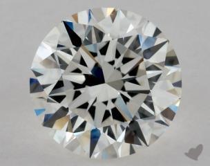 Round 1.09, color H, VVS1  Excellent diamond
