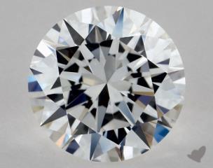 Round 1.05, color E, VVS1  Excellent diamond