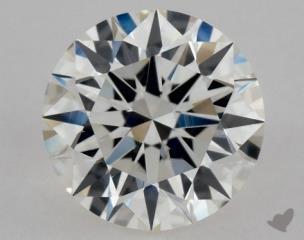 Round 0.74, color H, VVS2  Excellent diamond