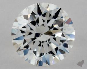 Round 0.60, color F, SI2  Excellent diamond