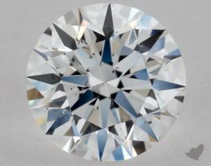 Round 0.53, color D, SI1  Excellent diamond
