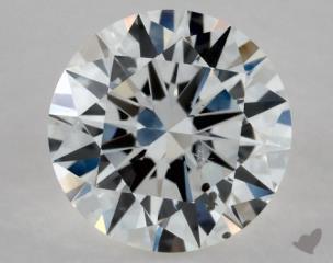 Round 0.50, color F, SI2  Excellent diamond