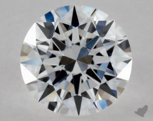 Round 0.35, color D, VS1  Excellent diamond