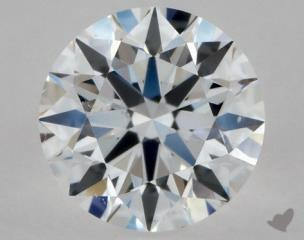 Round 0.35, color D, SI1  Excellent diamond