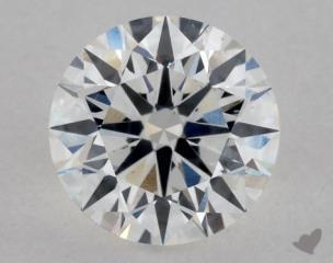 Round 0.72, color E, SI1  Excellent diamond