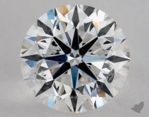 Round 0.91, color E, SI2  Very Good diamond