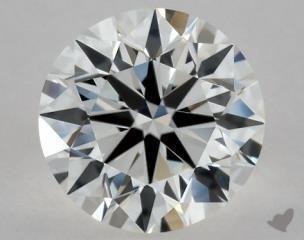 Round 0.80, color G, VS1  Excellent diamond