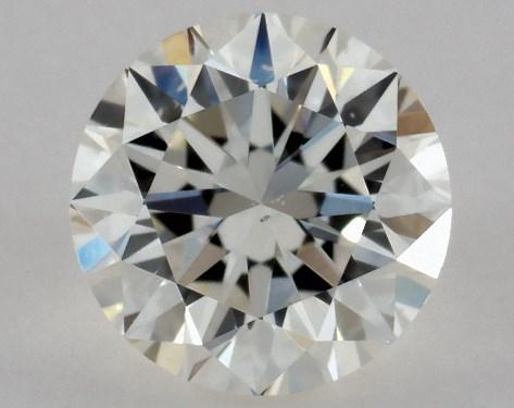 Round 0.50, color J, SI1  Very Good diamond