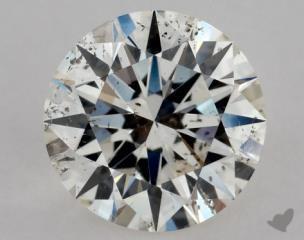 Round 0.71, color I, SI2  Excellent diamond
