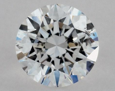 Round 0.50, color D, SI2  Excellent diamond