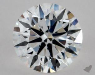 Round 0.54, color E, VVS1  Excellent diamond