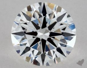 Round 1.01, color E, VS2  Excellent diamond