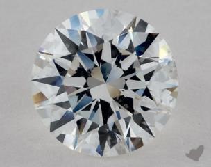 Round 2.54, color F, SI1  Excellent diamond