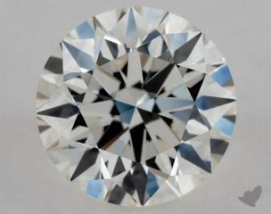 Round 0.91, color I, VVS2  Excellent diamond