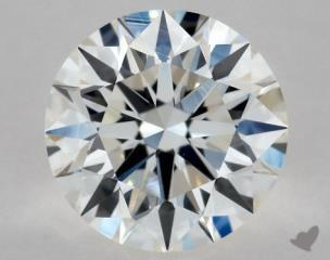 Round 0.72, color G, VS1  Excellent diamond