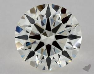 Round 0.83, color I, VVS1  Excellent diamond