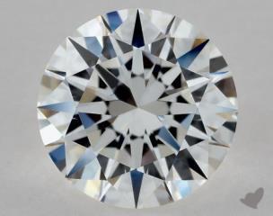 Round 1.03, color F, IF  Excellent diamond