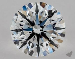 Round 1.20, color E, SI1  Excellent diamond