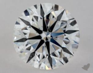 Round 1.00, color D, SI1  Excellent diamond