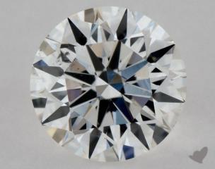 Round 0.40, color F, SI1  Excellent diamond