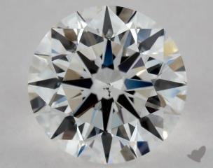Round 0.91, color E, SI1  Excellent diamond