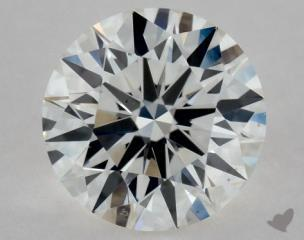 Round 0.54, color G, VS2  Excellent diamond