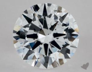 Round 1.18, color D, SI1  Excellent diamond
