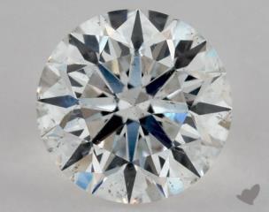 Round 0.92, color F, SI1  Excellent diamond