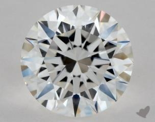 Round 0.80, color F, VS1  Excellent diamond