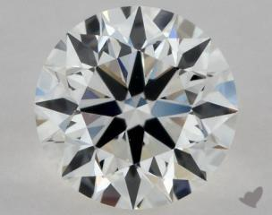 Round 0.74, color G, VVS2  Excellent diamond