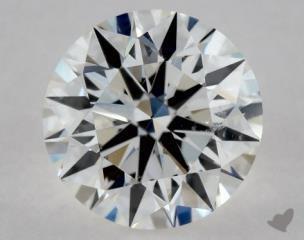 Round 0.71, color F, SI2  Excellent diamond