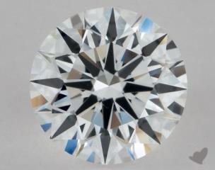 Round 0.72, color E, VVS2  Excellent diamond
