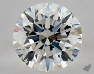 Round 0.36, color I, VVS2  Excellent diamond