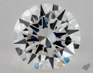 Round 0.31, color I, VVS1  Excellent diamond