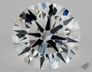 Round 0.90, color E, SI1  Excellent diamond