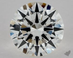 Round 1.02, color H, VVS1  Excellent diamond
