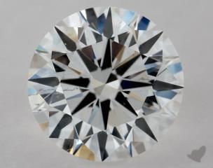 Round 1.02, color E, SI1  Excellent diamond