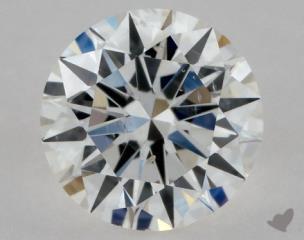 Round 0.40, color F, SI2  Excellent diamond