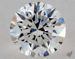 Round 0.33, color H, VVS1  Excellent diamond