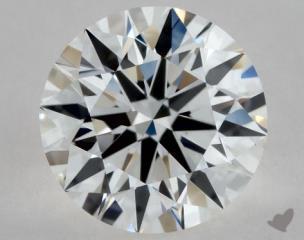 Round 0.52, color F, VS1  Excellent diamond