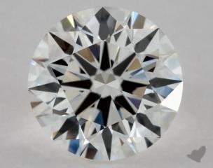 Round 1.08, color F, VS1  Excellent diamond