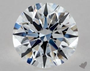 Round 1.00, color D, IF  Excellent diamond