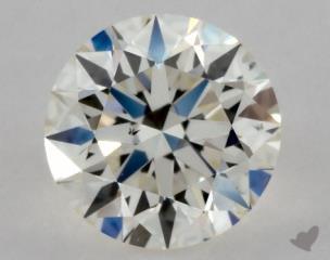 Round 0.35, color J, VS2  Excellent diamond