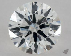 Round 0.35, color F, SI1  Excellent diamond