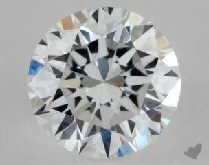Round 0.40, color E, VS2  Excellent diamond